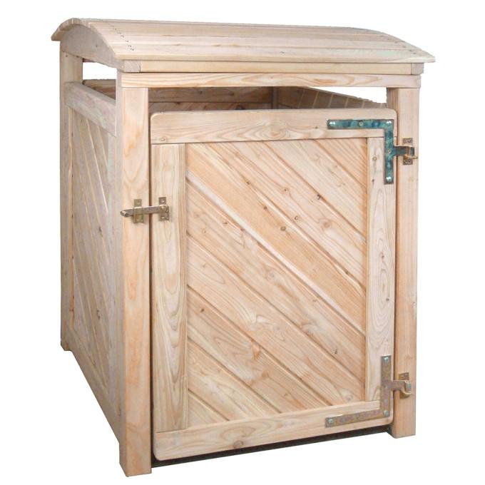 Mülltonnenbox für 1 x 240 L Tonne