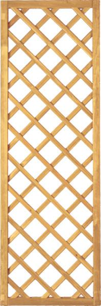 Diagonal - Rangkitter gerade, R.45x45, Raster 10x10 cm, Fichte - verschiedene Größen