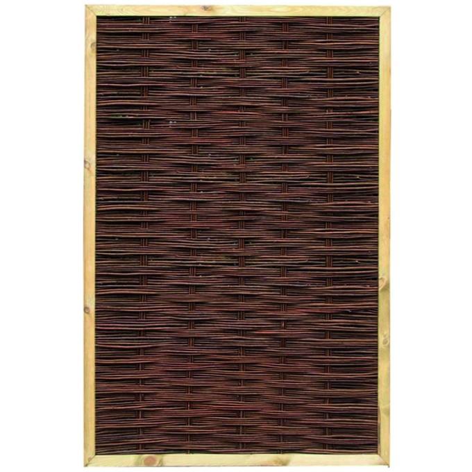 Weidenzaun Rechteck 120 x 180 cm