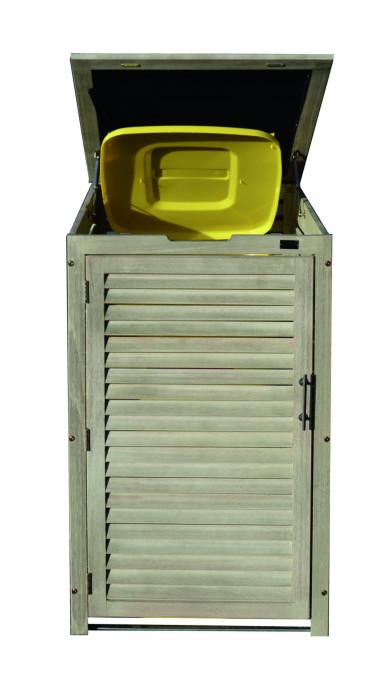 Einzelbox, grau-Washoptik