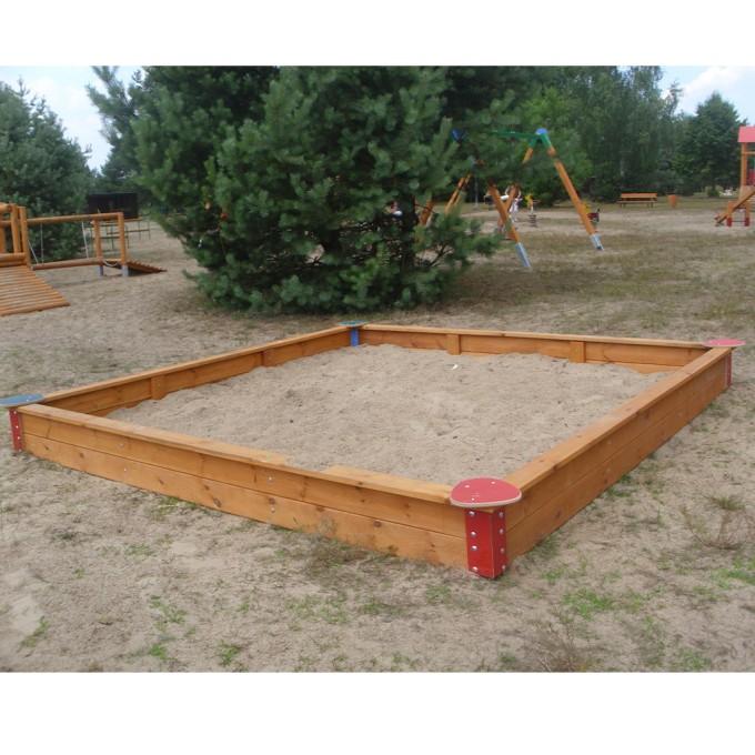 Sandkasten Greta - Spielplatz-Beispiel