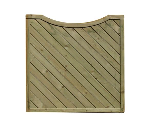 Zaun Siena Diagonal, Sichtblende