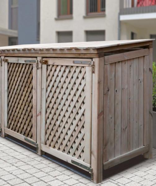 Baltrum - 2er Mülltonnenbox