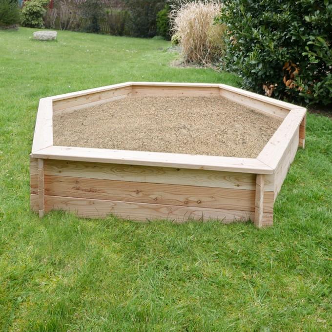 Sandkasten Lina 230 cm Duchmesser, 33 cm hoch