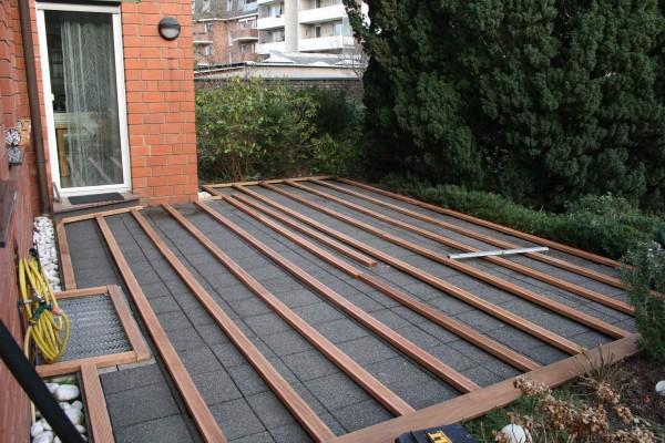 Unterkonstruktion-Terrasse