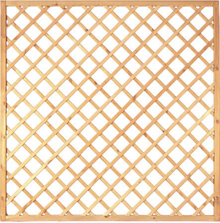 Diagonalrankgitter 180 x 180 cm