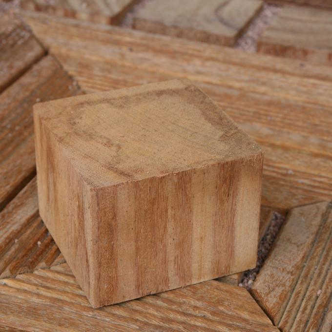 Kantholzpflaster Cumaru 9 x 9 cm