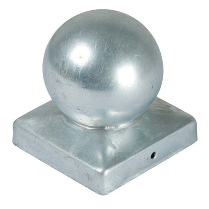 Pfostenabdeckung Metall, Kugel