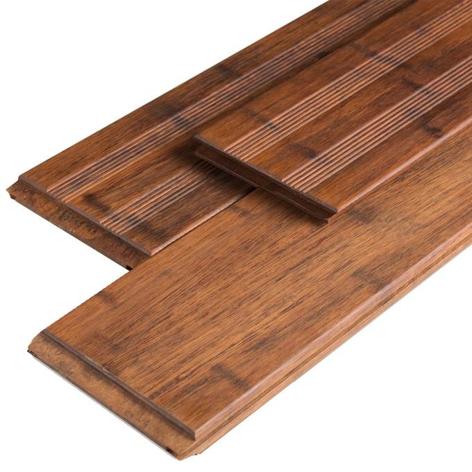Bambus-Terrassendiele Massiv 20 x 140 x 2200 mm, vorgeölt