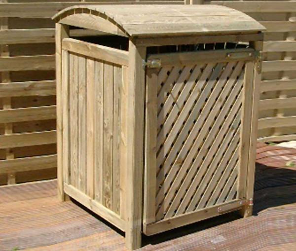 Mülltonnenbox für eine 240L-Tonne