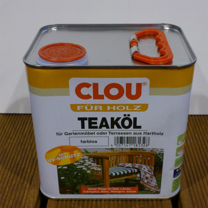 Clou Teaköl farblos