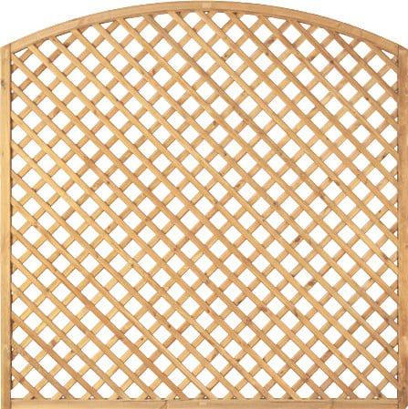 Diagonal - Rankgitter 180x180 cm