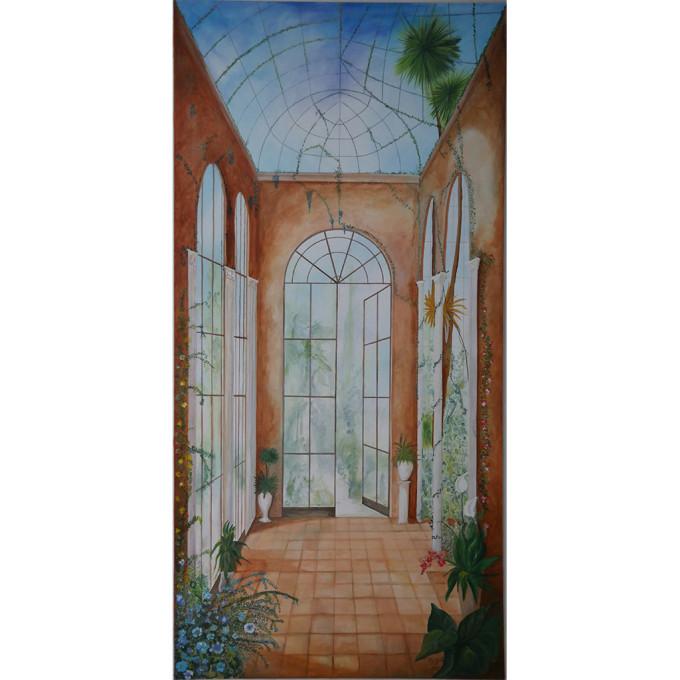 Acrylbild Orangerie - UNIKAT
