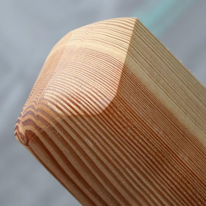 Pfosten aus Lärche 9 x 9 cm