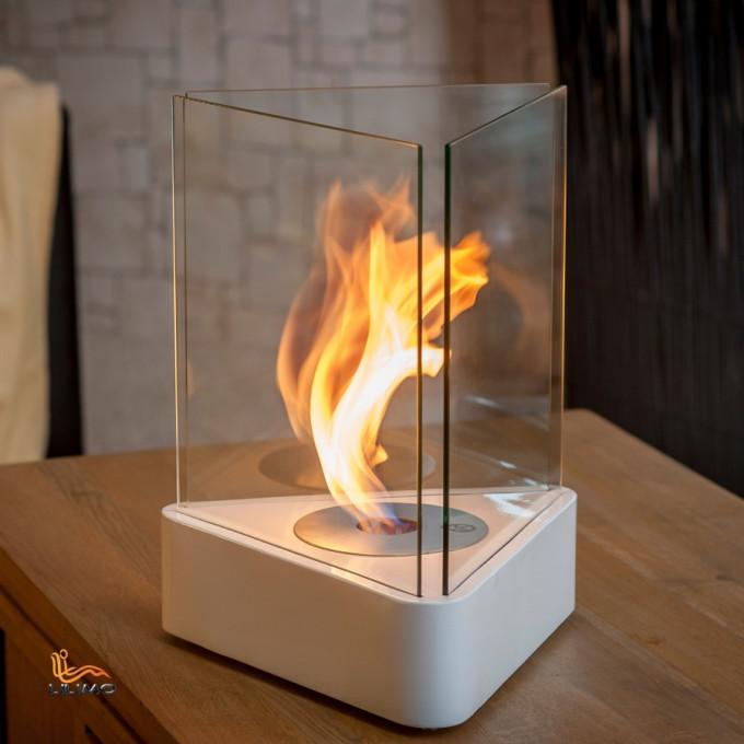 Tischkamin Torino mit Flamme