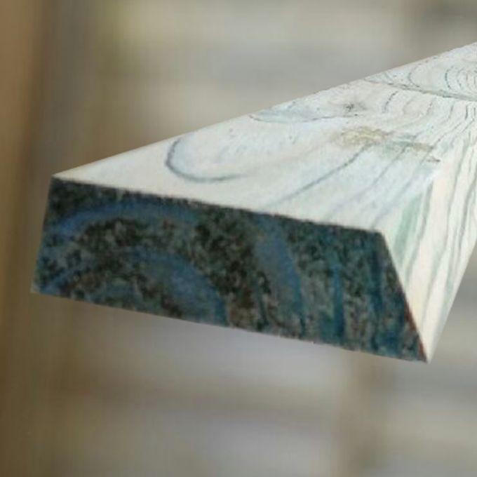 Zaunriegel glatt gehobelt 22 x 70 x1800 mm, abgeschrägt, kesseldruckimprägniert
