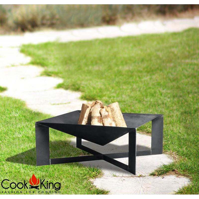 cook king feuerschale cuba 70 x 70 cm mit und ohne deckel. Black Bedroom Furniture Sets. Home Design Ideas