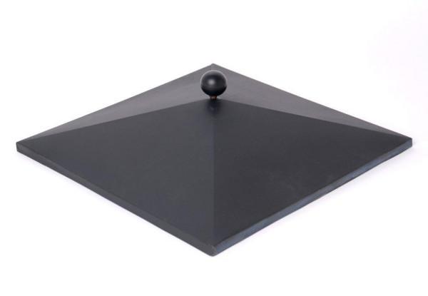 Abdeckung für Flammsäule - hier 42 x 42 cm