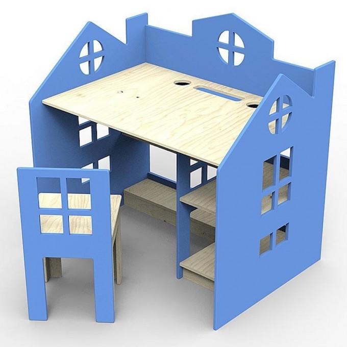 Schreibtisch Funny blau