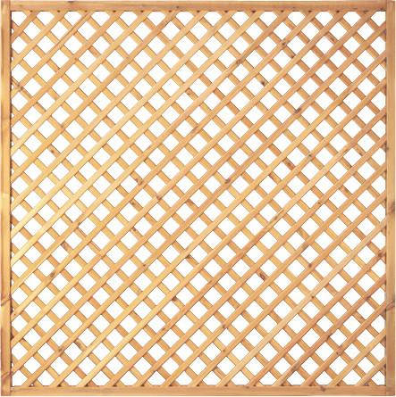 Diagonal-Rankzaun 180 x 180 cm, M. 7 x 7 cm